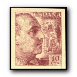 1940 España. Virgen del Pilar. Edif.889 **