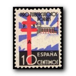 1938 Sellos de España. (866). Pro Tuberculosis.**