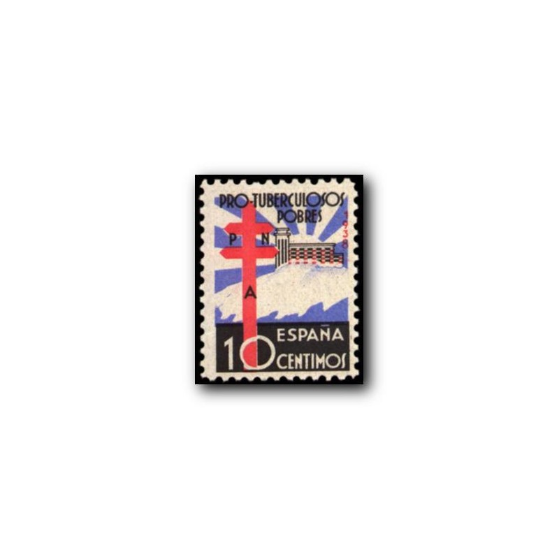 1938 España. Pro Tuberculosis. Edif.866 *