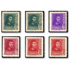 1938 Sellos de España (841/844A). Fernando El Catolico.**