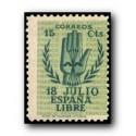 1940 España. Virgen del Pilar (aéreo). Edif.904 **