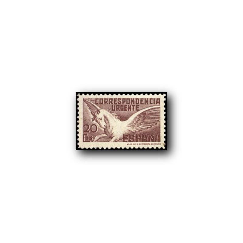1937 Sellos de España. Pegaso. (Edif.832) **