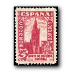 1936/37 Sellos de España (807). Junta de Defensa Nacional.**