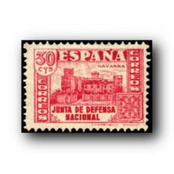 1936/37 Sellos de España (808). Junta de Defensa Nacional.**