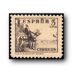 1937 Sellos de España (816). Cifras, Cid e Isabel.**