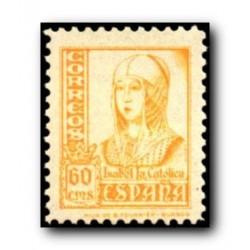 1937-1940 España. Cifras, Cid e Isabel la Católica. Edif.829 **