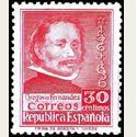 1937 España. Cent. de la Muerte de Gregorio Fernández. Edif.726