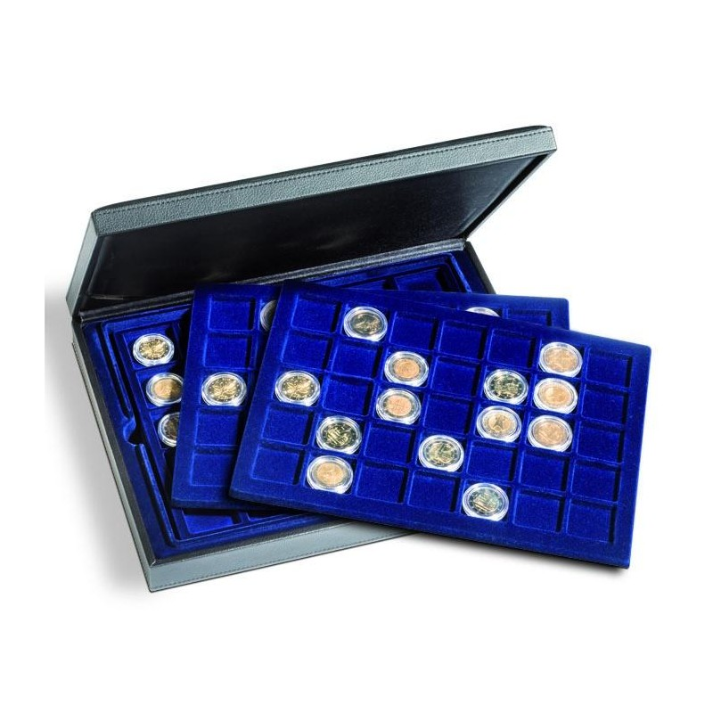 Estuche PRESIDIO TRIO para monedas de hasta 35 mm. Ø