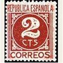 1936-38 España. Cifra y Personajes. Edif.731 **