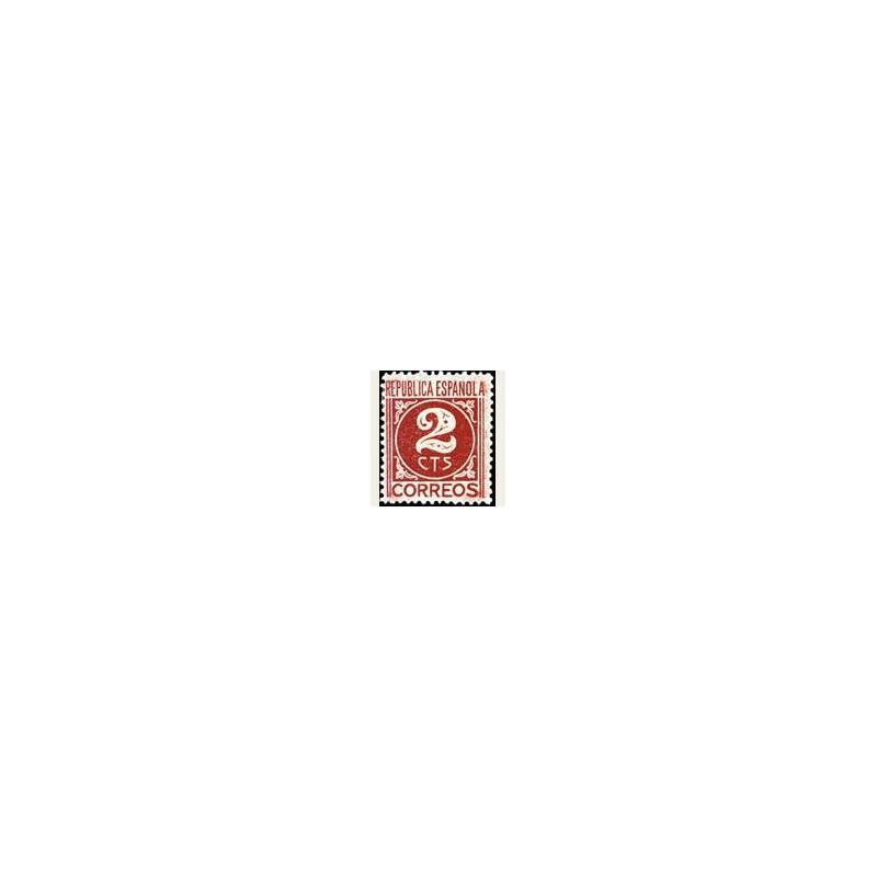 1936-38 España. Cifra y Personajes. Edif.731 *