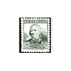 1936-38 España. Cifra y Personajes. Edif.733 *fijasellos