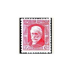 1936-38 España. Cifra y Personajes. Edif.734 **