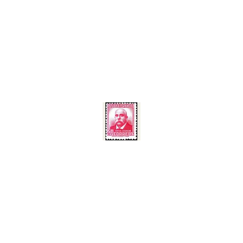 1936-38 España. Cifra y Personajes. Edif.736 **