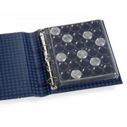 Hojas GRANDE ENCAP para monedas en cápsulas de 38/40 mm. Ø
