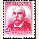1936-38 España. Cifra y Personajes. Edif.736 *