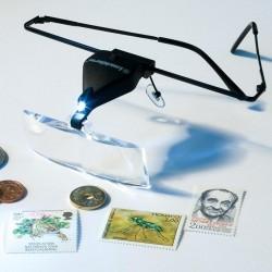 Gafas Lupa VISIR con led