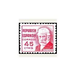 1936-38 España. Cifra y Personajes. Edif.737 **