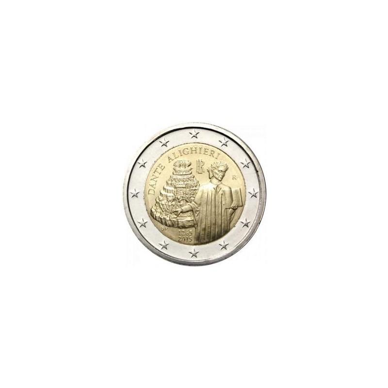 Moneda 2 euros conmemorativa. Italia 2015 Expo de Milán