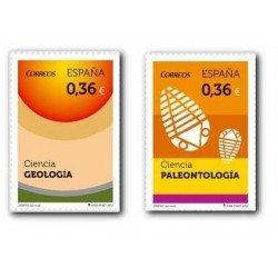 2012 Sellos de España (4734/35). Ciencia. Geología y Paleontología