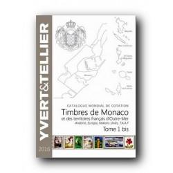 Catalogo de Sellos Yvert et Tellier Mónaco, Andorra, Europa... 2016