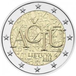 Moneda 2 euros conmemorativa. Letonia 2015 Presidencia de Europa