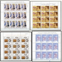 1990 España. Centenarios. Minipliegos. Edif.13/16