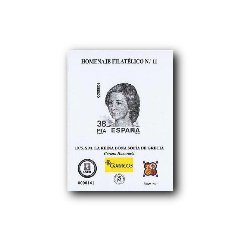 2015 Hoja Homenaje Filatélico a Isabel II (nº 10)