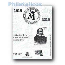 2015 Prueba Oficial 124. Casa de la Moneda de Madrid.