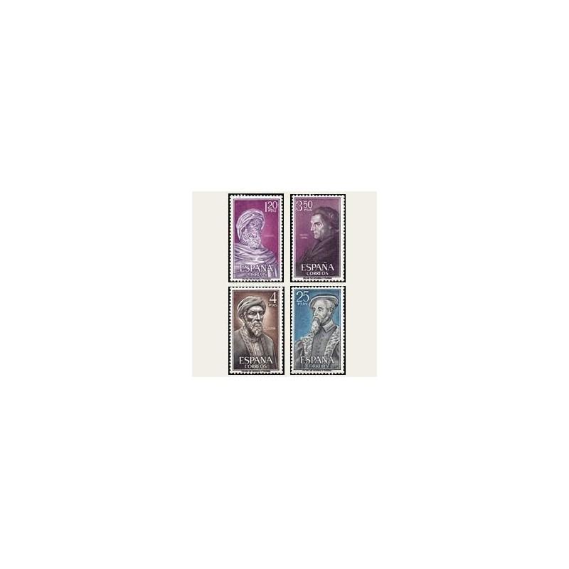 1967 España. Personajes. Edif.1791/94. **