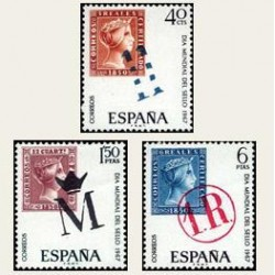 1967 España. Día del Sello. Edif.1798/00. **