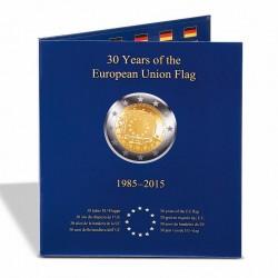 Álbum PRESSO 2 euros 30º Aniv. de la Bandera de Europa