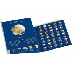 Álbum PRESSO 2 euros 10º Aniv. de la Unión Monetaria