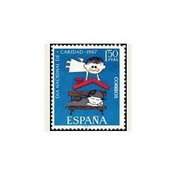1967 España. Cáritas. 1801. **