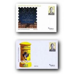2016 España. Sobres Entero Postales Filatelia.