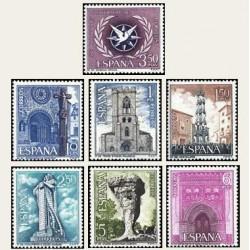 1967 España. Turismo IV. Edif.1802/08. **
