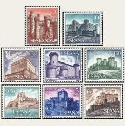 1967 España. Castillos de España. Edif.1809/16 **