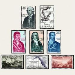 1967 España. Forjadores de América. Edif.1819/26 **