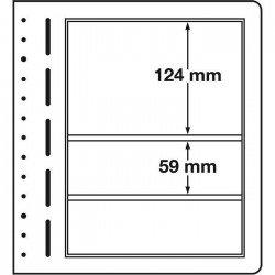 Hojas Leuchtturm LB 3 MIX (10 unds.)