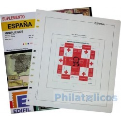 Suplemento Hojas Edifil España Minipliegos 2015