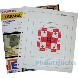 Suplemento Hojas Edifil España Minipliegos 2016