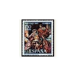 1967 España. Navidad. Edif.1838 **