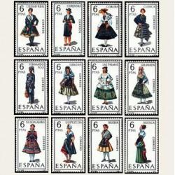 1968 España. Trajes Típicos Españoles. 1839/50. **