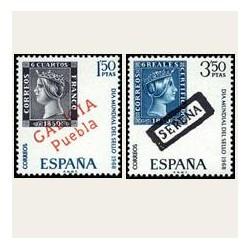 1968 España. Día Mundial del Sello. 1869/70. **