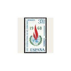 1968 España. Año Internacional de los Derechos Humanos. 1874