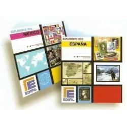 Juego Hojas Edifil Sellos de Gibraltar 1981/1990