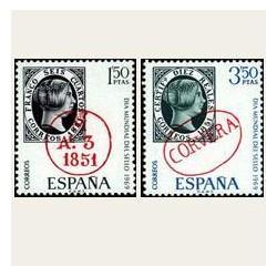 1969 España. Día Mundial del Sello. Edif.1922/23 **