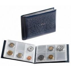 Album de bolsillo Leuchtturm para monedas en cartones