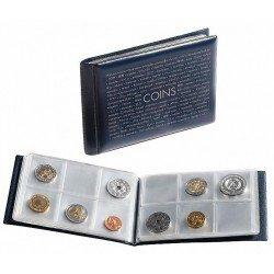 Album de bolsillo Leuchtturm ROUTE para 48 monedas