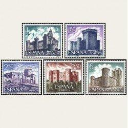 1969 España. Castillos de España. Edif.1927/31 **