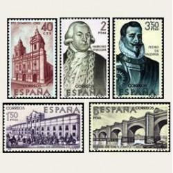 1969 España. Forjadores de América. Edif.1939/43 *